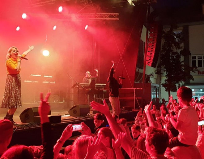 Liveband PremiumStyle Open Air Party mit mega Live Sound